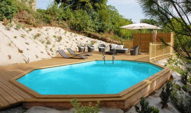 Limpiafondos cloradores salinos for Jardines con piscinas desmontables