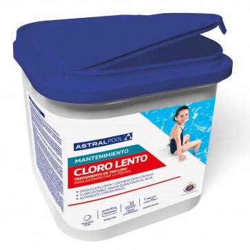 Cloro lento tabletas 250 gr Astral-395