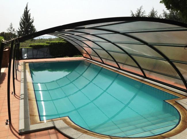 Cubierta piscina baja lanzarote cubiertas policarbonato cubiertas y cobertores - Precios lanzarote ...