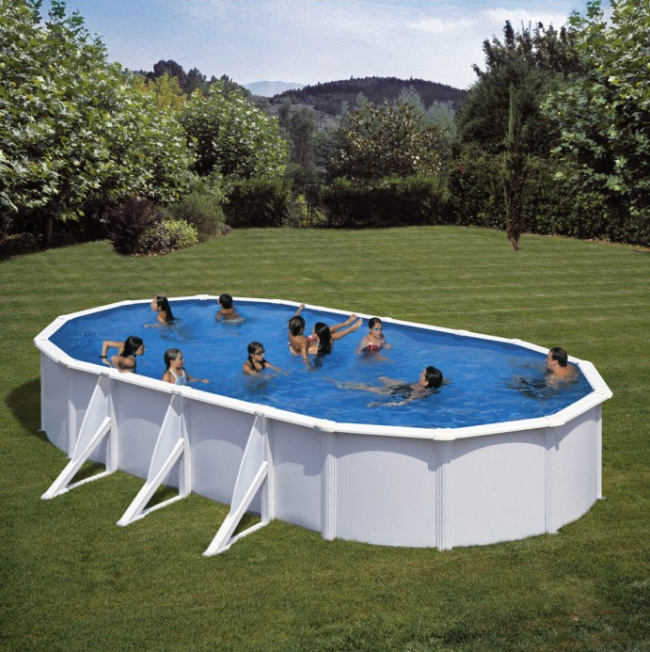 piscina desmontable acero