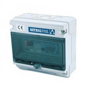 Armario control y protección de una bomba + luz subacuática Astralpool