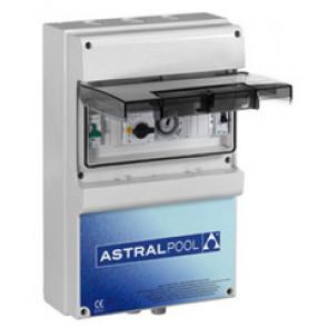 Armario protección de una bomba + control de 1 luz subacuática  Astralpool