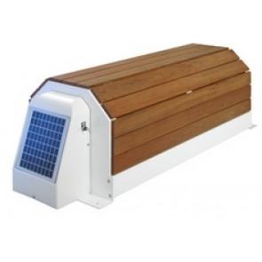 Cubierta con banco Narbone solar Astralpool