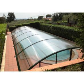 Cubierta piscina baja Lanzarote