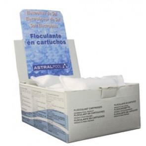 Floculante en cartucho 100 gr especial para electrólisis de sal Astralpool