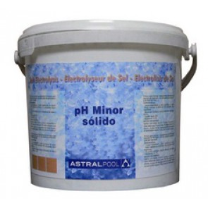 pH Minor sólido para electrólisis de sal Astralpool