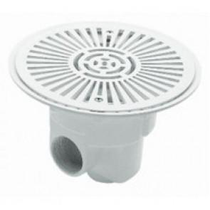 Sumidero circular Ø 270 mm con rejilla ABS piscina hormigón Astralpool